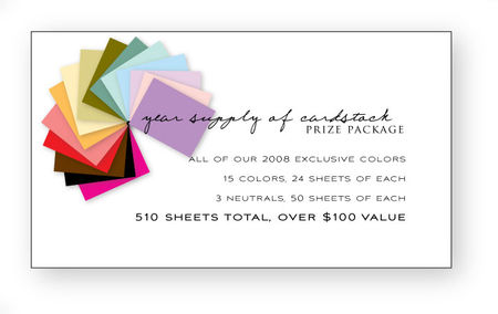 Cardstock-prize-package