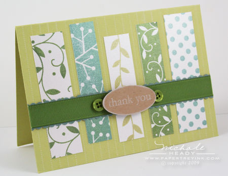 Borders & strips card