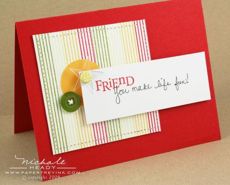Fun Friends card