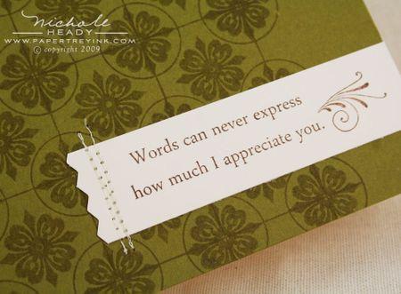 Your Kindness closeup