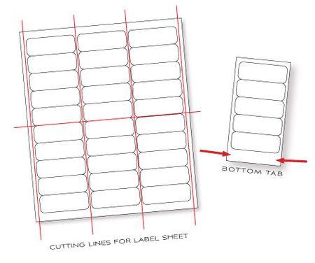 Label-sheet-cutting-illustration