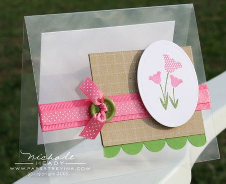 Tulip Trio card