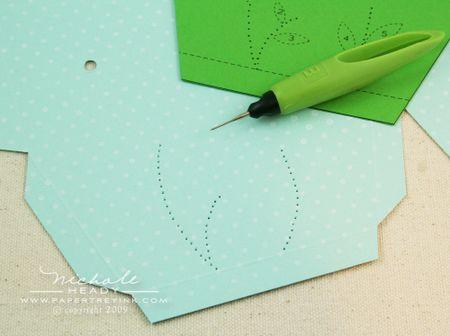 Piercing holes