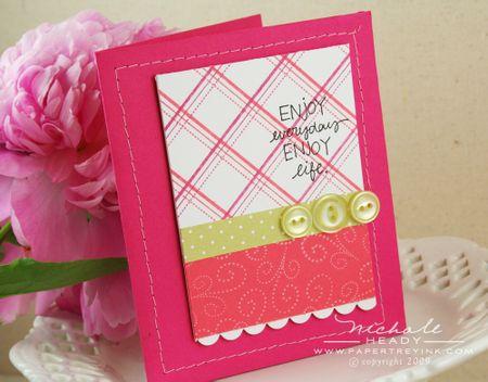 Enjoy life card