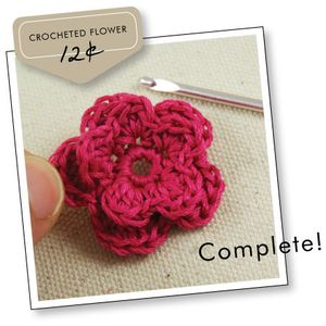 Completed-flower