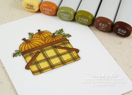 Pumpkin markers