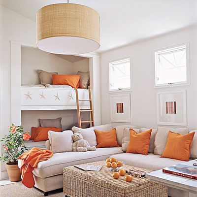 Orange & kraft inspiration