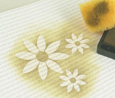 Sponge & ink