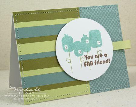 Fab Friend card