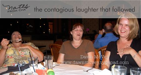 Mish feeding debbie laughter