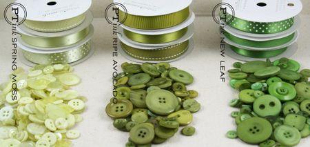 Greens button comparison