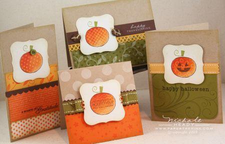 Pumpkins 4 Ways