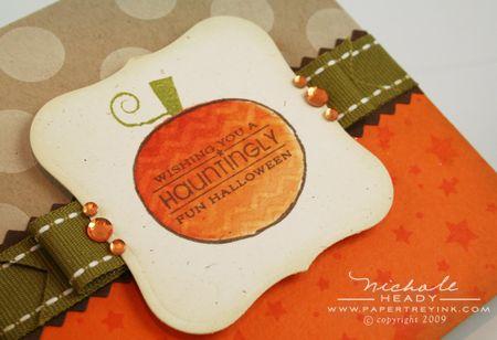 ZigZag pumpkin closeup