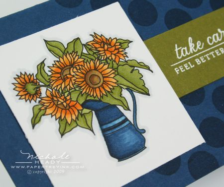 Colored sunflowers