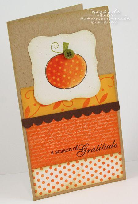 Season of Gratitude card