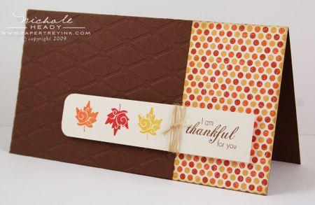 Leaf Trio card