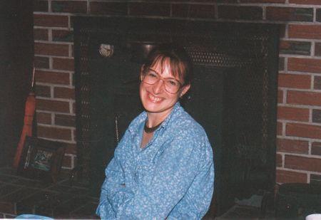 Mom smiling