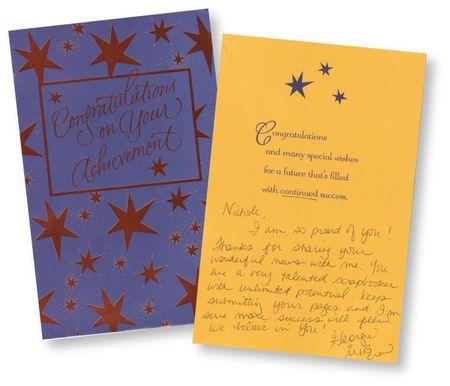 Georgie's-card