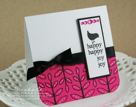 Happy happy joy joy card