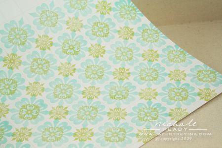 Finished tile pattern