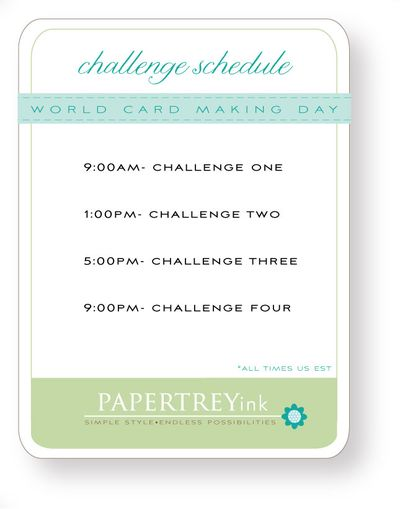 Challenge-schedule