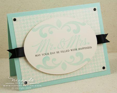 Mr & Mrs card