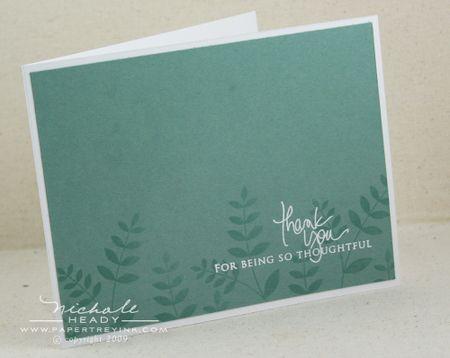 Thoughtful card