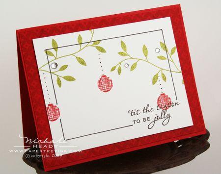 Jolly Ornament card