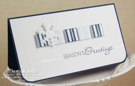Sparkle Snowflake card