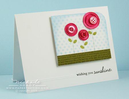 Wishing you sunshine card