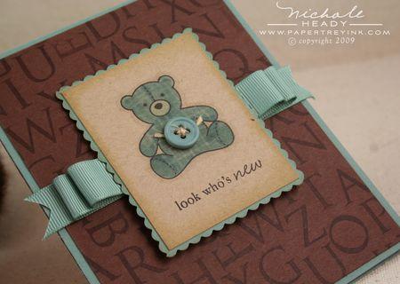Teddy bear closeup