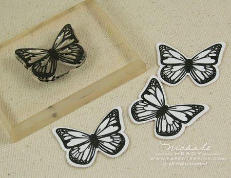 Diecut butterflies