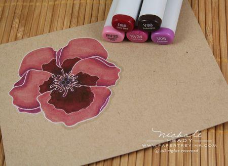 Coloring violet