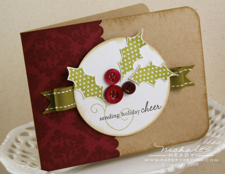 Nichole Holiday Button Bits