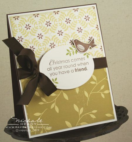 Christmas Friend card