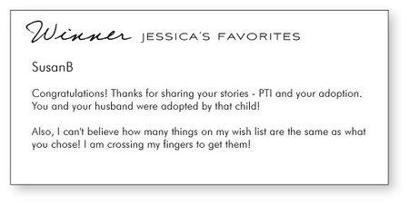 Jessicas-favorites-winner