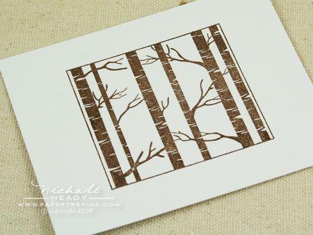 Uncolored tree block