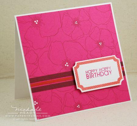 Framed Birthday Card