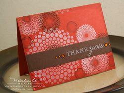 Terracotta Spot Card
