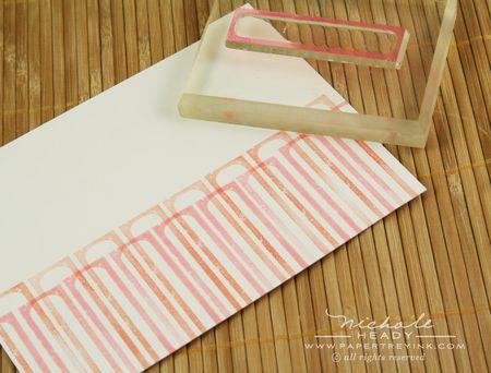 Stamping stripes