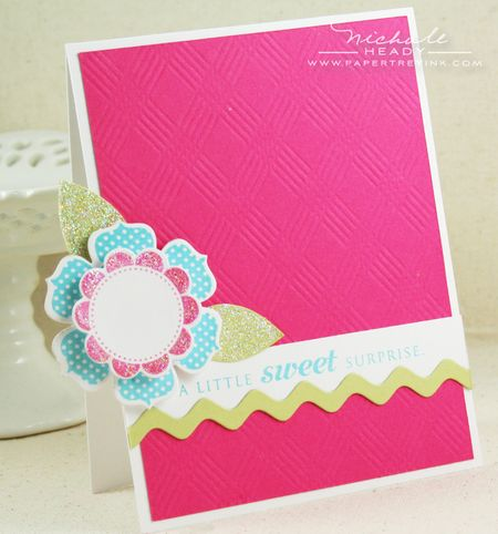 Sweet Surprise card