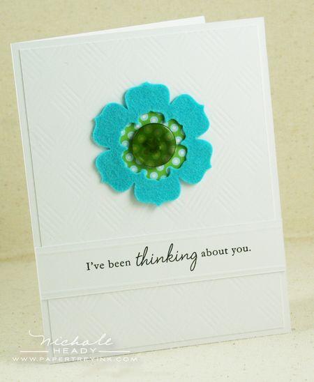 Bracket Flower card