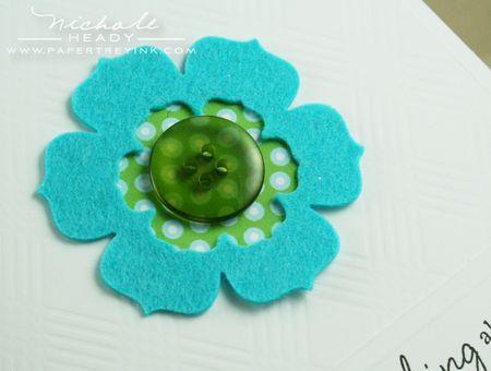 Bracket flower closeup