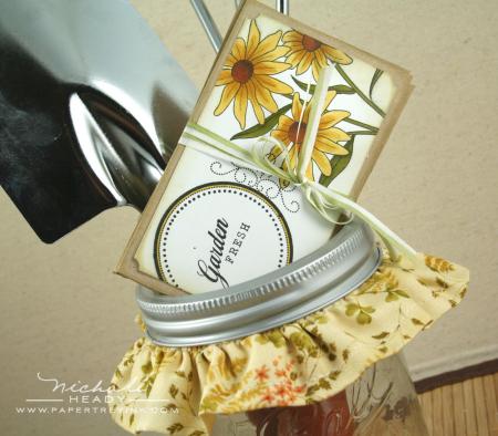 Seed s in jar closeup