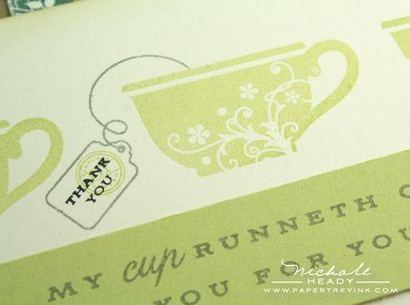 Finished teacup