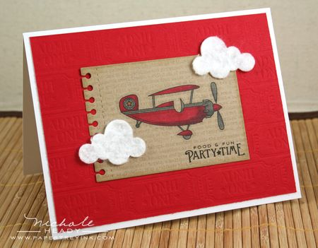 Party Plane Card