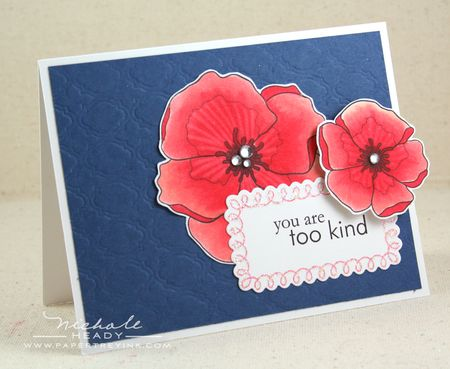 You are Too Kind card