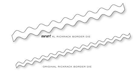 Rickrack-dies