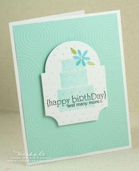 Birthdday Cake card