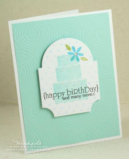 Birthdday Cake card